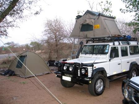 & Kruger Park Expedition Safari - Roof Tent Accommodation