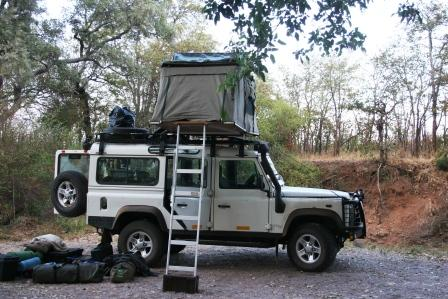 Kruger Park Expedition Safari - Roof Tent Accommodation